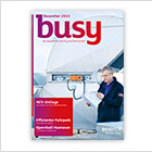 Cover des Magazins busy