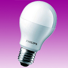 Philips A60 E27 LED Lampe 8W
