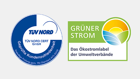 Trustsiegel TÜV Nord/Focus Money