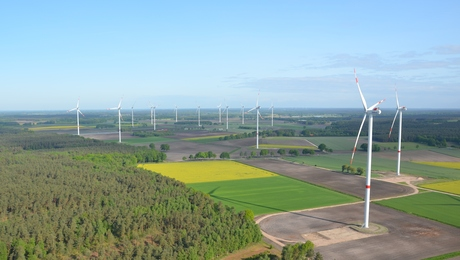 Panorama Windpark Groß Eilstorf