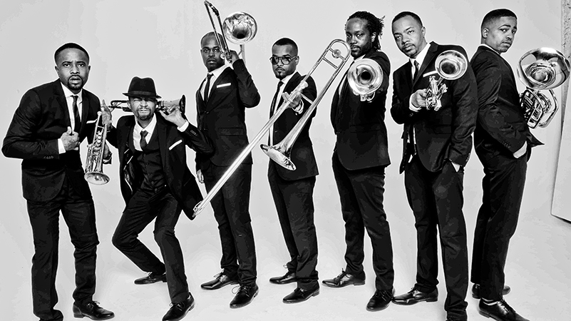 The Hypnotic Brass Ensemble beim Jazzfestival enercity swinging hannover